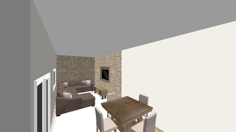house1 - Modern - Living room  - by giovannaursulino