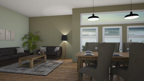 Sunshine - Living room  - by lecpris