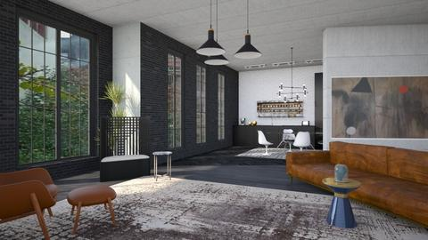 factory conversion  - Modern - Living room  - by kitty