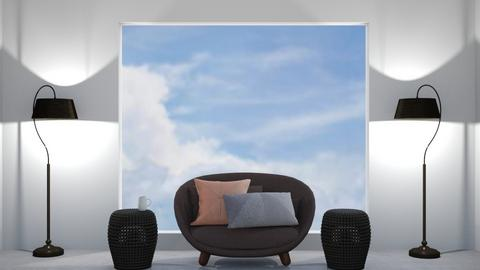 The sunny room REMIX - Country - Living room  - by designcat31