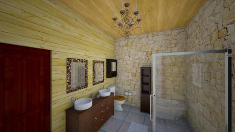 Casa da Serra 2 - Country - Bathroom  - by ladolce88