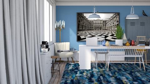 Home Office II - Modern - Office  - by HenkRetro1960