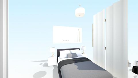 sypialnia1 - Glamour - Bedroom  - by monic1677