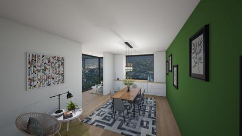 Dining room 2 - Modern - Dining room  - by BettyMalaga