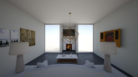 Modern Living - Modern - Living room  - by Charginghawks
