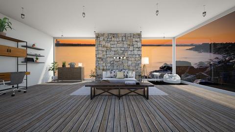 Barn house theme - Country - Living room  - by ghhvghgvhvgvhvb