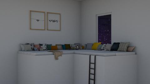 l o f t  c o s i n e s s - Living room  - by elliers11
