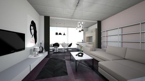 Amy  - Retro - Living room  - by naominaomi
