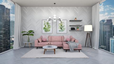 Wooden Wall Revival - Living room  - by MyDesignIdeas