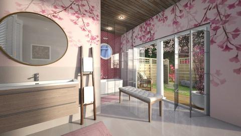 Cherry Blossom Bathroom 6 - Bathroom  - by jjp513