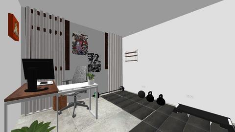 Oficina y Gimnasio - Modern - by Lapapuripitapa