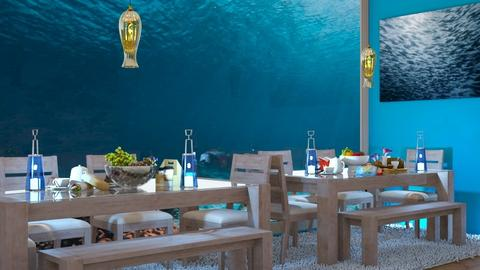 Sea Dining Room - Modern - Dining room  - by MB2006