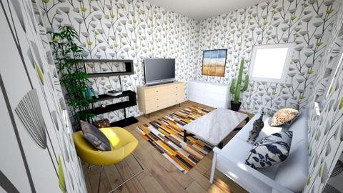 Cute living - Modern - Living room  - by Zavoianu Ioana
