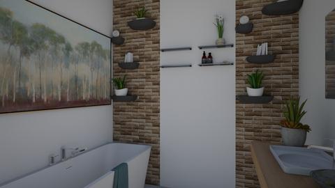 HOUSE - Bathroom  - by Almadeflores
