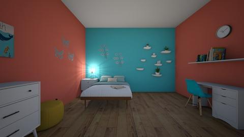 Teen Bedroom - Bedroom  - by kjohnson6285