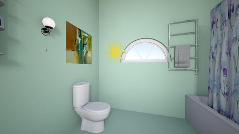 Kalishas GuestBath3 - Glamour - Bathroom  - by lulu2x