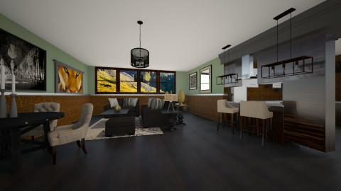salon3 - Classic - Living room  - by Violeta Sordo