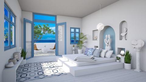 modern greek - Bedroom  - by djoleitaca