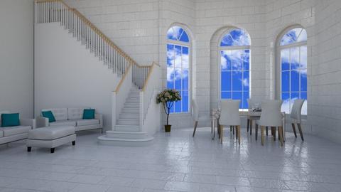 peaceful dining room   - by elliehugi