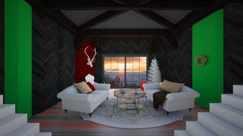 minimalist christimas liv - Country - Living room  - by FriendsofGOD
