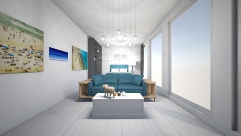 beach house - Bedroom  - by cherrymary594