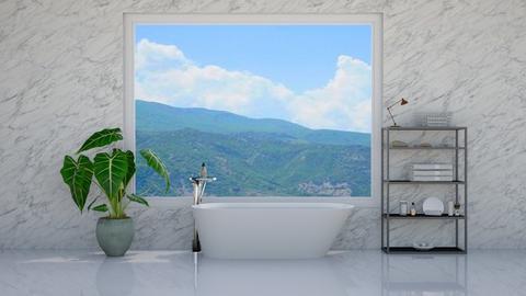bathroom - by laone_thipe