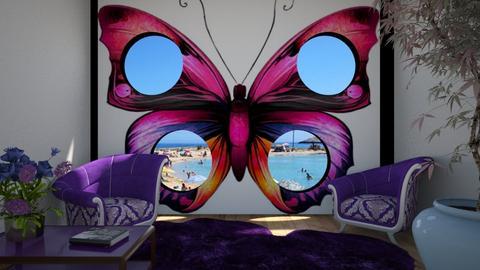 Purple room - by ilcsi1860
