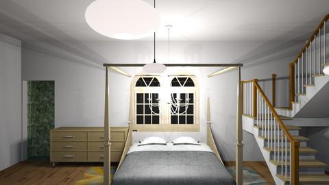 the room on he 1st floor - Vintage - by izabella spark