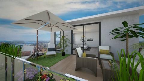 rooftop terrace - by melon_grape