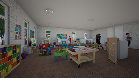 Daycare - Kids room  - by Drama Llama