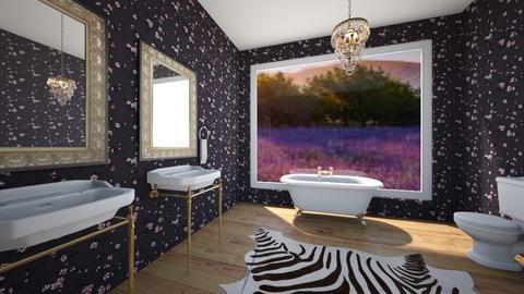 Lavender Inspired Bath - Bathroom - by sydpmoore