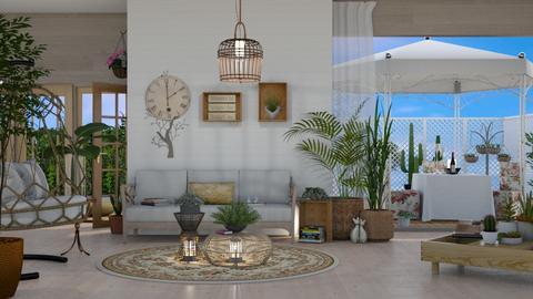 planter room - Living room  - by nat mi