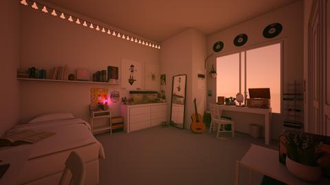 MyFavRoomAestheticish     - Minimal - Bedroom  - by jade1111