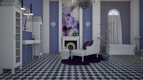 Lilac 001 - Classic - Bathroom  - by decordiva1