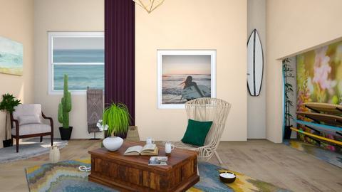 surf living - Living room - by horseygirl Xx