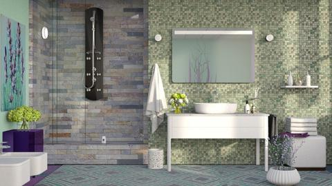 M_Lavender 4 - Bathroom - by milyca8