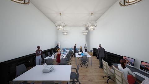 sala de trabajo - Office  - by valentiina