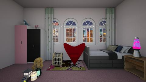 Girl to teenager - Feminine - Kids room  - by designgirl59