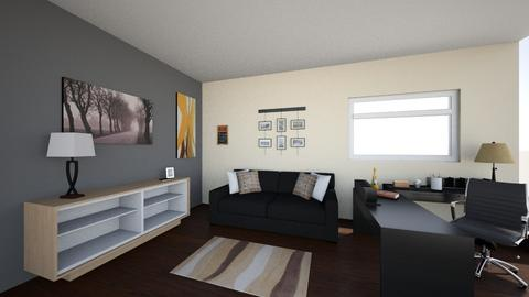Contemporary Home Office - Office - by Hansoul