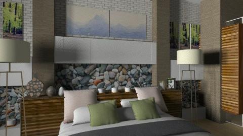 my bedroom - Modern - Bedroom  - by Firuza Eva