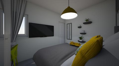 miri bedroom - Office  - by ilanitrusso
