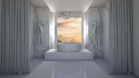 The Bath Retreat - Minimal - Bathroom  - by milk07Designs