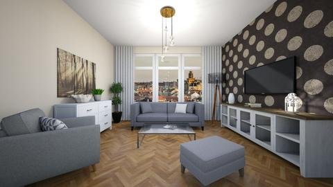 Overlap - Classic - Living room  - by Twerka