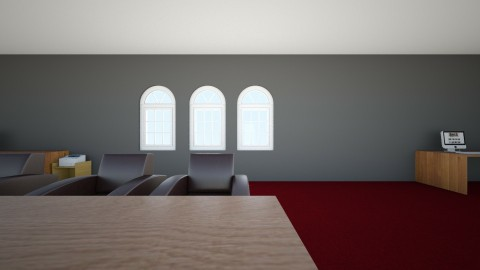 my office plan - Modern - Office  - by TheDisguisedVlogger