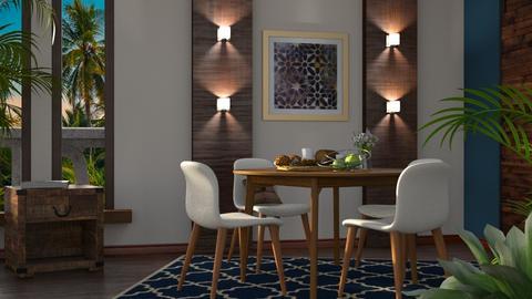 Honolulu - Rustic - Dining room - by millerfam