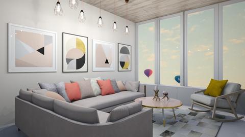 pastel - Living room - by belle alderton