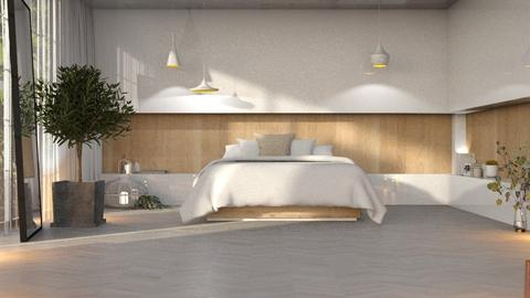 Minimal_i tried nyways_ - Minimal - Bedroom  - by KittyT6