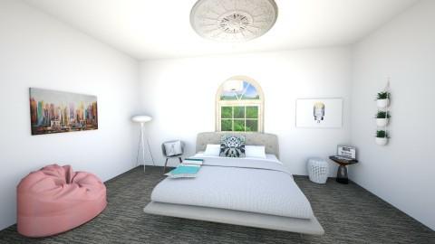 master bedroom - Bedroom - by simpledesign27