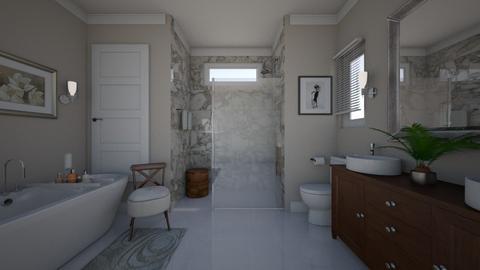 Elegant Bathroom - Bathroom  - by LizyD