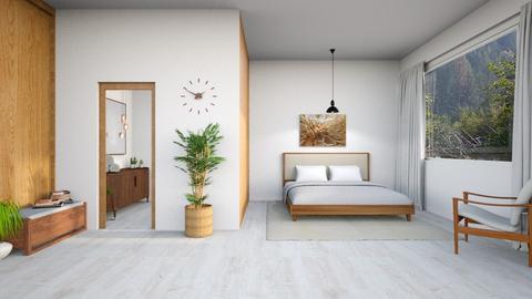 Walnut bedroom - by Mist Wolf